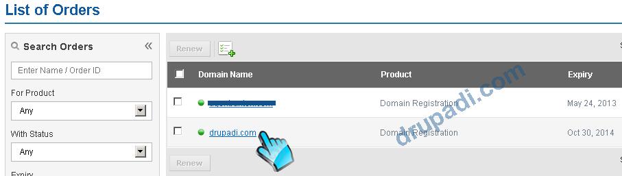 List Domain